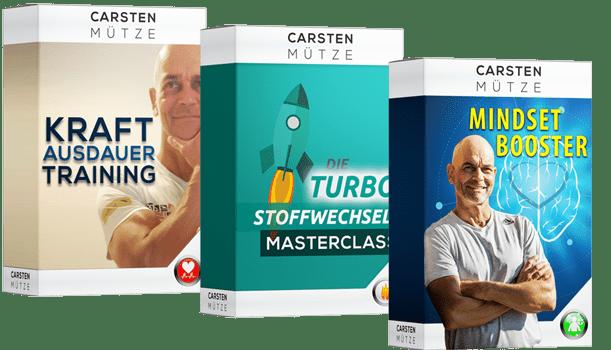 Angebotsboxen der Performance Power Formel von Carsten Mütze.